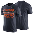Chicago Bears Team Stripe T-Shirt