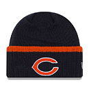 Chicago Bears Ribbed Up Team Cuffed Knit Hat