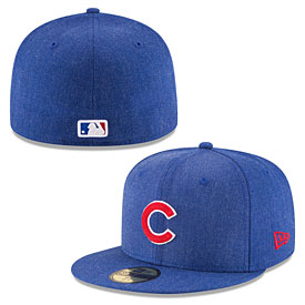 Chicago Cubs Heather Crisp 59FIFTY Fitted Cap