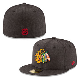 Chicago Blackhawks Heather Crisp 59FIFTY Fitted Cap