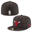 Chicago Bulls Heather Crisp 59FIFTY Fitted Cap