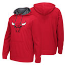 Chicago Bulls Red Tip-Off Playoff Hooded Sweatshirt