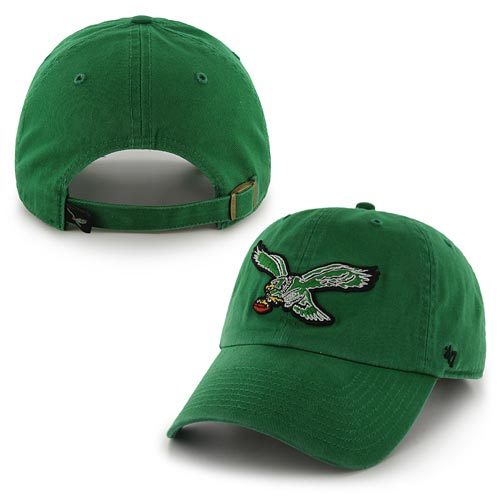 Philadelphia Eagles Green Retro Cleanup Adjustable Cap aa4808114