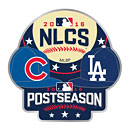 Chicago Cubs 2016 NLCS Dueling Caps Souvenir Pin
