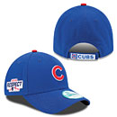 Chicago Cubs 2016 Division Series Clinch Side Patch Adjustable Cap