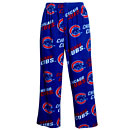 Chicago Cubs Mens Wild Card Micro Fleece Sleep Pants