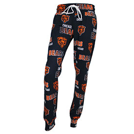 Chicago Bears Ladies Sweep All Over Logo Sleep Pants