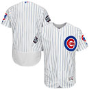 Chicago Cubs Home Flexbase Authentic Jersey w/ 2016 World Series Patch