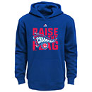 Chicago Cubs Youth 2016 NL Champs Locker Room Hooded Sweatshirt