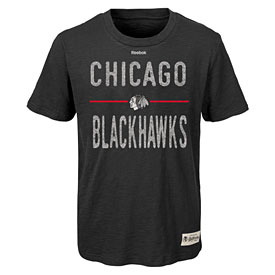 Chicago Blackhawks Youth Descendant Slub T-Shirt