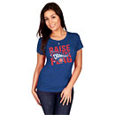 Chicago Cubs Ladies 2016 NL Champs Big & Tall Locker Room T-Shirt