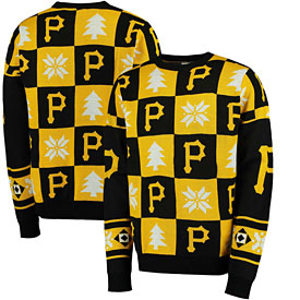 Pittsburgh Pirates Patches Ugly Pullover Sweater