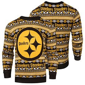 Pittsburgh Steelers Aztec Ugly Sweater