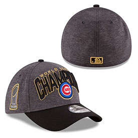 Chicago Cubs 2016 World Series Champions Locker Room Flex Fit Cap