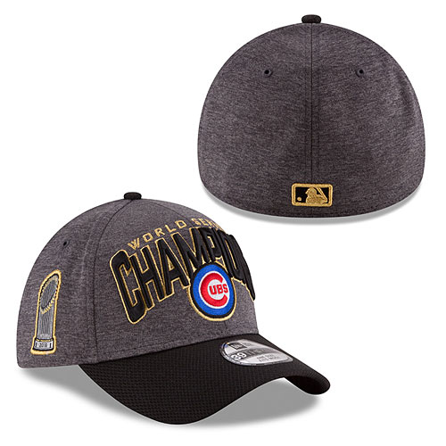 Chicago Cubs 2016 World Series Champions Locker Room Flex Fit Cap 30f7d6510db