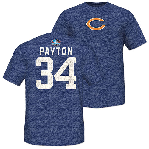 Chicago Bears Walter Payton Hall of Fame Victory T-Shirt ff9a15f7da60