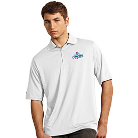 Chicago Cubs 2016 World Series Champions White Exceed Polo