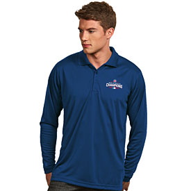 Chicago Cubs 2016 World Series Champions Exceed Long Sleeve Polo