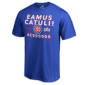 69783c091e1 Chicago Cubs 2016 World Series Champions Eamus Catuli Let s Go Cubs T-Shirt