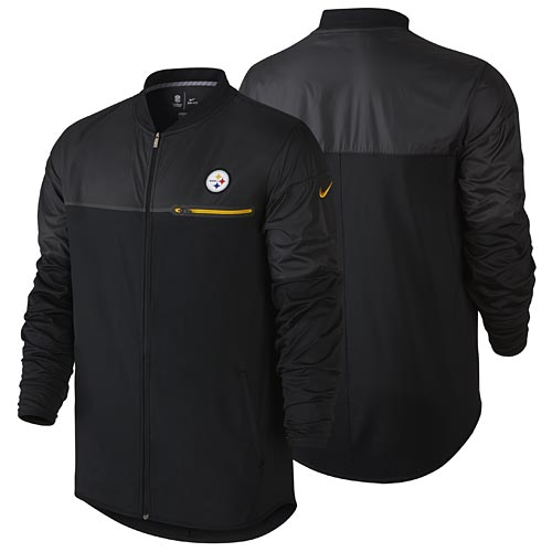 new concept 3d3f0 529bb Pittsburgh Steelers Elite Hybrid Performance Jacket