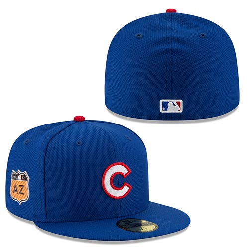 reputable site 0c8f5 71665 Chicago Cubs 2017 Spring Training Diamond Era 59FIFTY Fitted Cap