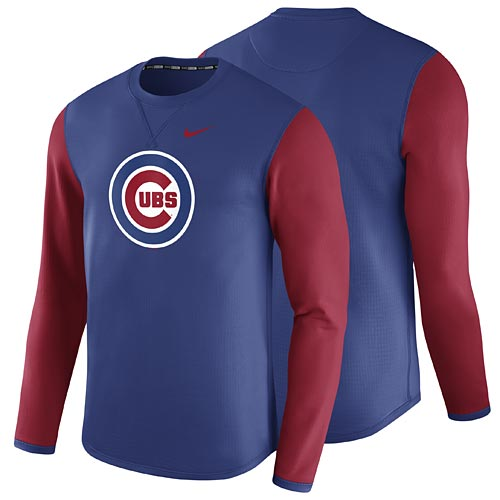 new arrival 1dd1b bc248 Chicago Cubs Waffle Dri-FIT Long Sleeve T-Shirt