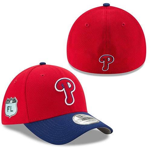 Philadelphia Phillies 2017 Spring Training Diamond Era 39THIRTY Flex Fit Cap 8e58f2224e9
