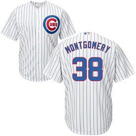 Chicago Cubs Mike Montgomery Home Cool Base Replica Jersey
