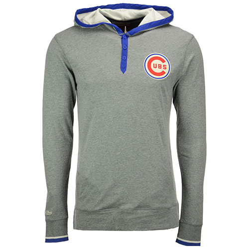 cheap for discount 735d5 1fc3e Chicago Cubs Seal the Win Hooded Long Sleeve T-Shirt