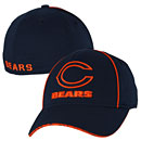 Chicago Bears Youth Navy Logo Flex Fit Cap
