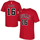 Chicago Bulls Pau Gasol Name and Number T-Shirt