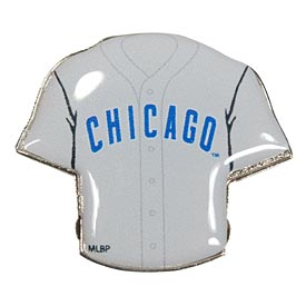 Chicago Cubs Road Jersey Souvenir Pin