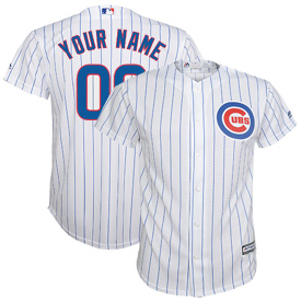 Chicago Cubs Customized Preschool Home Cool Base Replica Jersey