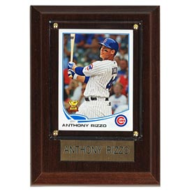 Chicago Cubs Anthony Rizzo 4 x 6 Player Plaque