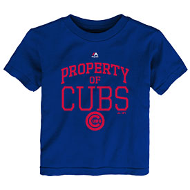 Chicago Cubs Toddler Team Property of T-Shirt
