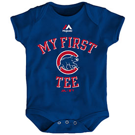 Chicago Cubs Newborn My First Tee Creeper