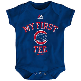 Chicago Cubs Infant My First Tee Creeper
