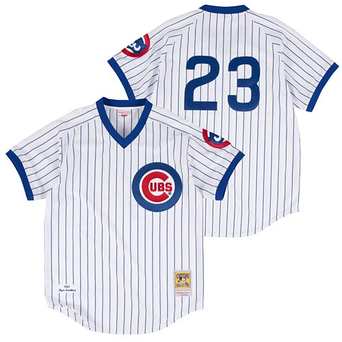 big sale 3b74f 8e757 Chicago Cubs Ryne Sandberg 1987 Home Jersey
