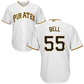 Pittsburgh Pirates Josh Bell Youth Home Cool Base Replica Jersey