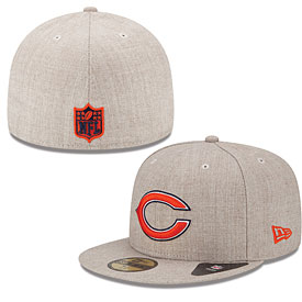 Chicago Bears Streamliner 5950 Fitted Cap