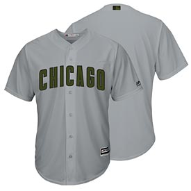 Chicago Cubs 2017 Memorial Day Cool Base Replica Jersey