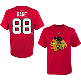 Chicago Blackhawks Patrick Kane Youth Name and Number T-Shirt
