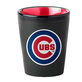 Chicago Cubs Two-Tone Shot Glass