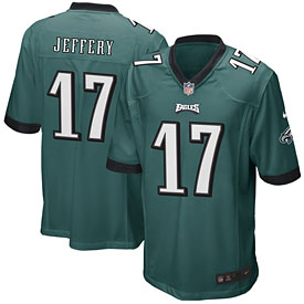 Philadelphia Eagles Alshon Jeffery Game Team Color Jersey
