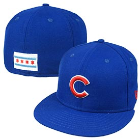 Chicago Cubs Royal Chicago Flag Back 59FIFTY Fitted Cap