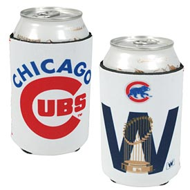 Chicago Cubs W Flag Trophy Can Cooler