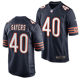 Chicago Bears Gale Sayers Retired Game Jersey
