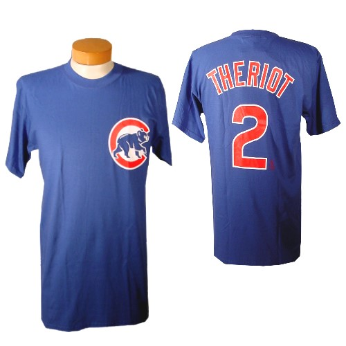 Chicago Cubs Ryan Theriot Youth Name and Number T-Shirt
