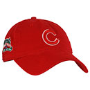 Chicago Cubs Wrigley Field 100 Year Anniversary Red Washed Adjustable Cap
