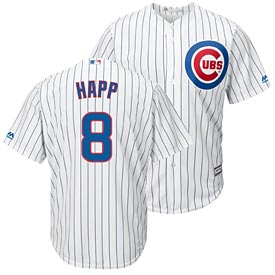 Chicago Cubs Ian Happ Youth Home Cool Base Replica Jersey